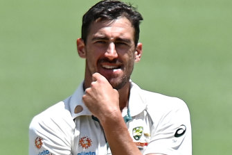 After a strong start to the series, Mitchell Starc's form tapered.