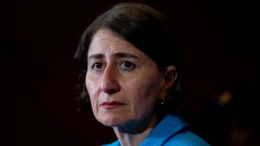 Premier Gladys Berejiklian is popular with the people but her caution frustrates some within her government.