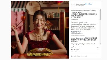 Dolce &Gabbana faced China boycott over videos that were perceived to be racist.