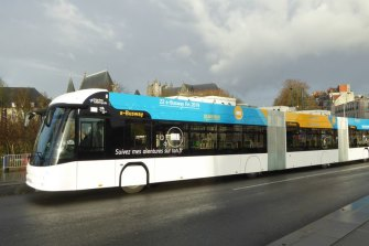 The vehicles are already operating in the French city of Nantes.