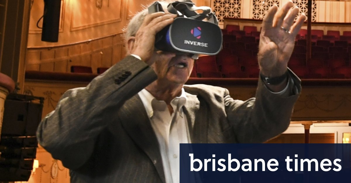 'Absolutely extraordinary': The VR moment that astonished an Aussie movie legend