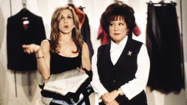 Sarah Jessica Parker and Bette Midler in the classic First Wives Club.