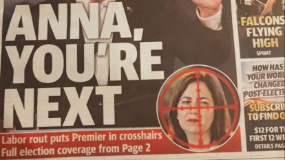 Queensland newspaper apologises after Palaszczuk image sparks anger