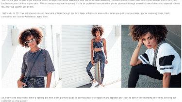 Lorna Jane later rebranded its 'anti-viral' activewear range as 'anti-bacterial'.