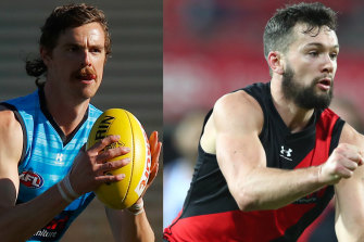 Jon Daniher and Conor McKenna.