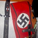 Nazi regalia in an image linked to Bryer Schmegelsky.