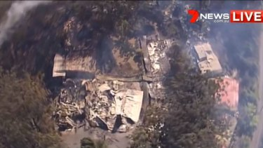Binna Burra Lodge has been gutted by out of control bushfires.