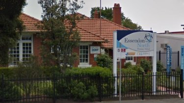 Asbestos has been found in a classroom at Essendon North Primary School.