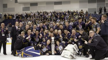The Canberra Brave won their first Goodall Cup last year.