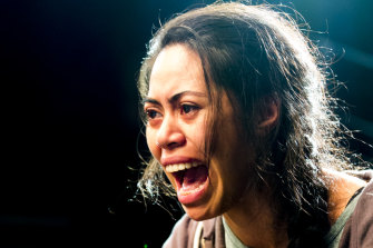 Sabryna Walters delivers a devastating monologue that reaches the heart of the play.