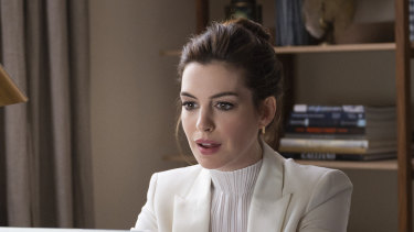 Anne Hathaway in Locked Down