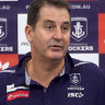 'Weed it out': Dockers back derby rivals in stand against racism