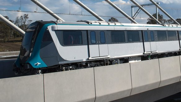 Driverless train runs full length of new Sydney line ahead of opening