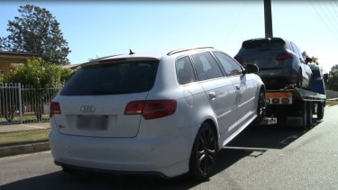 The Audi S3 was also in Mr Rifai's name.