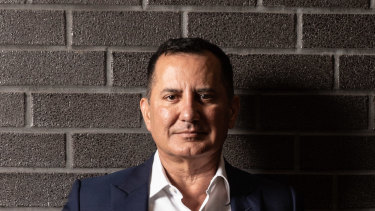 George Frazis, CEO of Bank of Queensland, which was hit hard by COVID-19.