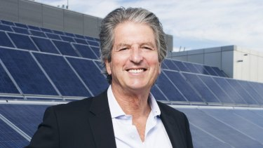 Professor Martin Green, one of the solar pioneers at the School of Photovoltaic and Renewable Energy Engineering at the University of NSW.