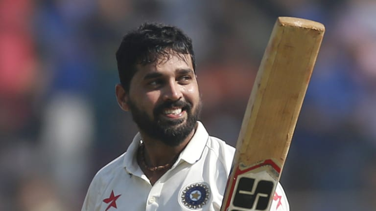 Murali Vijay is likely to open for India.