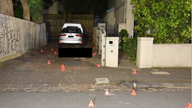 Ibrahim was later shot dead by police in a Kew driveway.