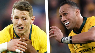 Christian Lealiifano and Bernard Foley will battle it out for the No.10 jersey at the World Cup.