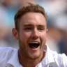 Spearhead: Stuart Broad has praised the qualities of the Duke ball, claming his interest is purely in ensuring exciting Test cricket in the Ashes.