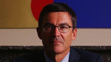 Former Lazard banker and chairman of Sports Australia, John Wylie.
