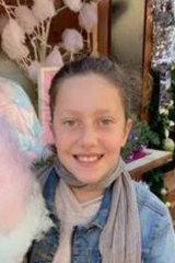Veronique Sakr, 11, was one of the four children killed.