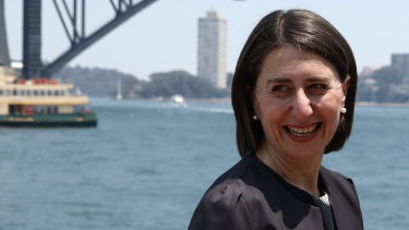 Premier Gladys Berejiklian says the government's job is to make the city beautiful, not just functional.
