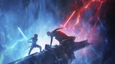 New poster art for Star Wars: The Rise of Skywalker.