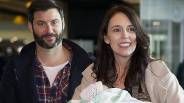 Prime Minister Jacinda Ardern and her partner Clarke Gayford were engaged over the Easter weekend