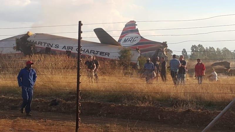 Australian pilots seriously injured in South African plane crash