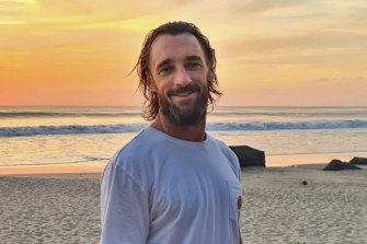 Tom Merrett, from Sydney's northern beaches, says he's enjoying life on Lombok during the pandemic.