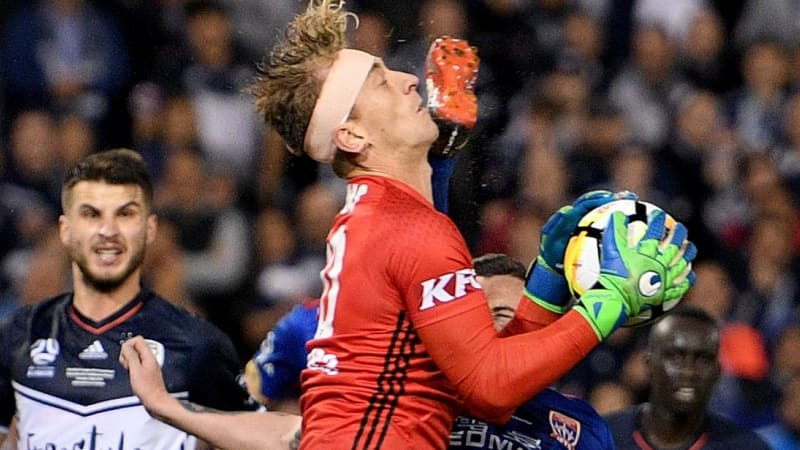 Image result for O'Donovan gets 10-match ban for A-League final kung fu kick
