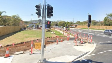 Player Street at Upper Mount Gravatt has been opened up to form a new intersection, with four properties acquired and resumed for the upgrade.