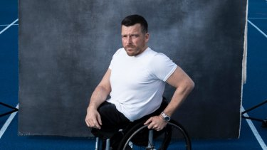 Paralympic champion Kurt Fearnley, pictured in 2018, says the voices of people with disability must be listened to.
