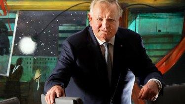 Perth property developer Nigel Satterley in his company's boardroom.