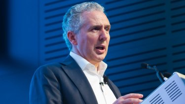 Telstra chief executive Andy Penn.
