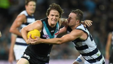 New club, new pressure: Jared Polec.