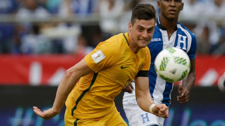 In doubt: Australia's Tomi Juric is struggling with a knee injury.