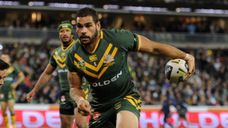 Criticism: Former Test skipper Laurie Daley says Greg Inglis needs to step down from the position.