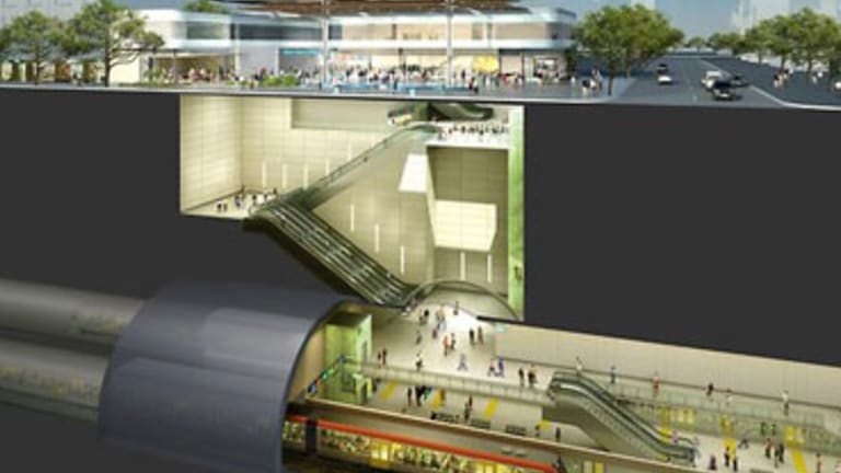 Five consortia are vying to be chosen to build Brisbane's $5.4 billion Cross River Rail project.