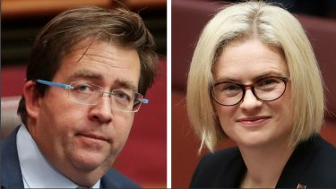Senators James McGrath and Amanda Stoker are in a hard-fought battle for the top spot on the Queensland LNP senate ticket.
