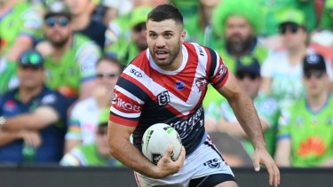 Roosters superstar James Tedesco.