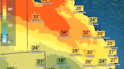 Brisbane to heat up before weekend storm in 'mixed lollies' forecast