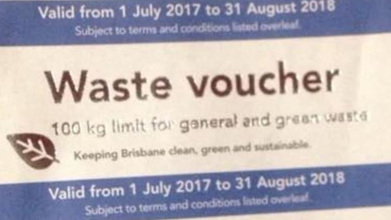 Brisbane City Council Waste Vouchers