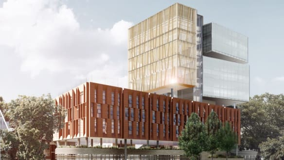 Students at the new Inner Sydney High School will get exclusive access to part of Prince Alfred Park during school hours.