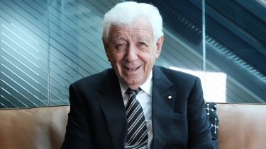 Frank Lowy exits Australian retail sector with Scentre Group sale.