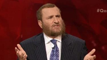 Rabbi Schmuley Boteach on Q&A.