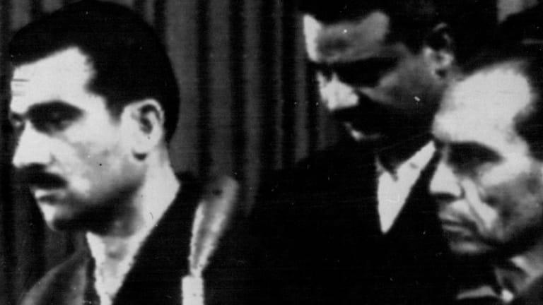 Sentenced to death: Israeli spy, Eli Cohen, left,in 1965.