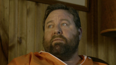 Shane Jacobson in a scene from the film Brothers' Nest.