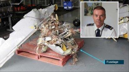 Stradbroke Island vintage plane crash report reveals extent of wreckage